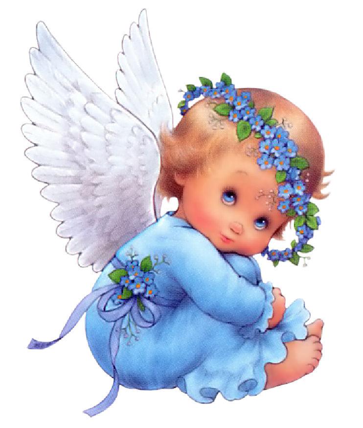 Angelitos para tarjetas - Imagui