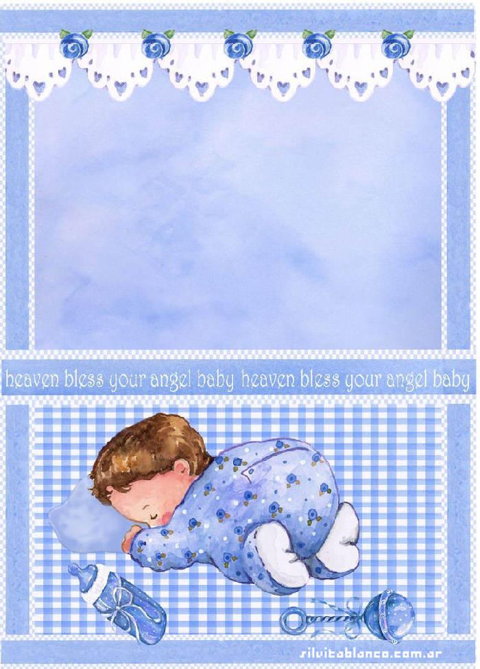 Открытка для младенца мальчик 903