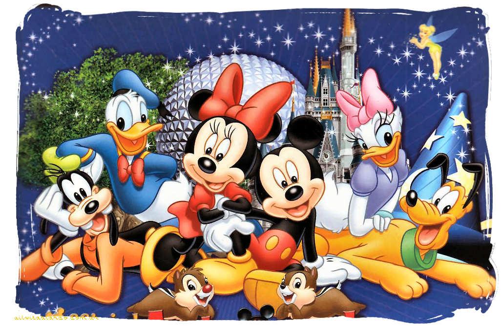 Mickey Mouse Y Sus Amigos Tarjetas FELIZ CUMPLEA  OS Disney