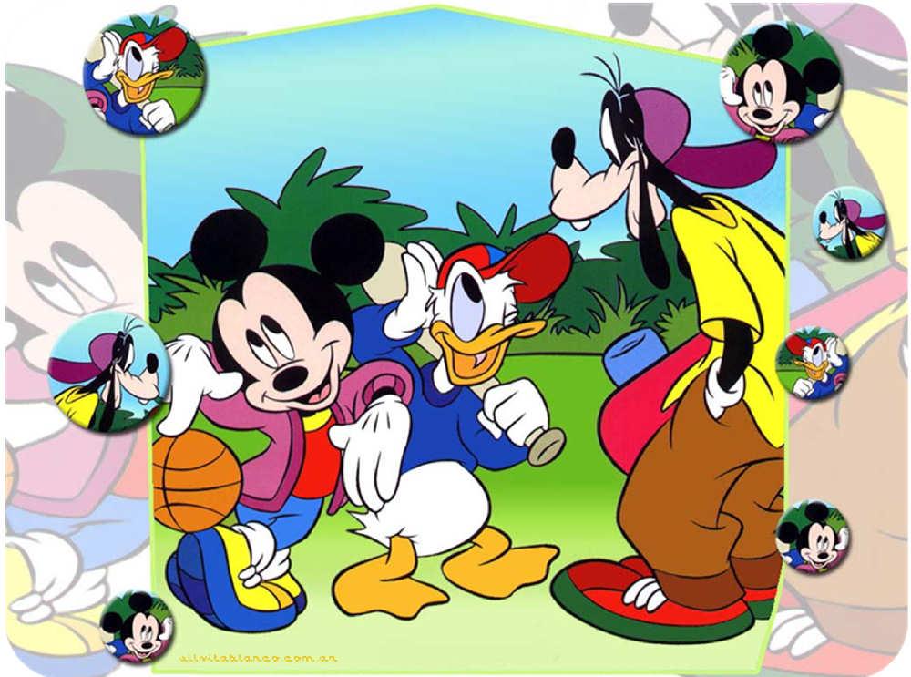 Cumple Mickey Y Sus Amigos