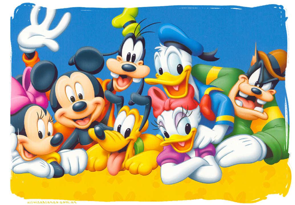 Cumpleanos de mickey mouse y minnie