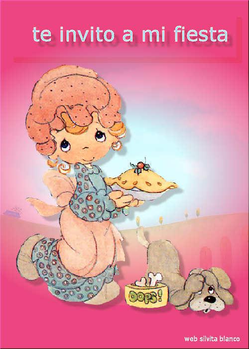 Precious Moments Cumpleaños Tarjetas Invitaciones | Tamaño Grande ...