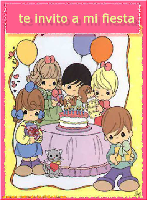 Tarjetas de preciosos momentos de cumpleaños - Imagui
