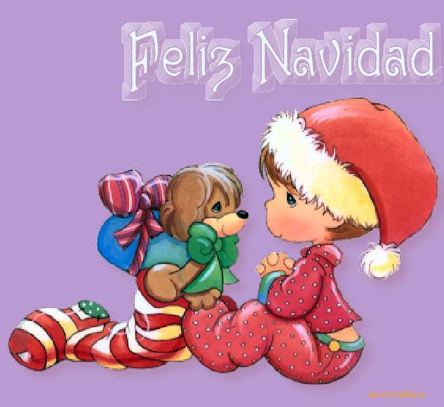 Precious Moments Ilustraciones Tarjeta Navidad Ideas Postales Diseño