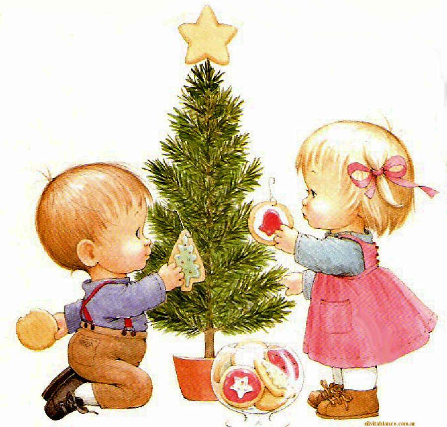 Navidad - Postal navidena infantil ...