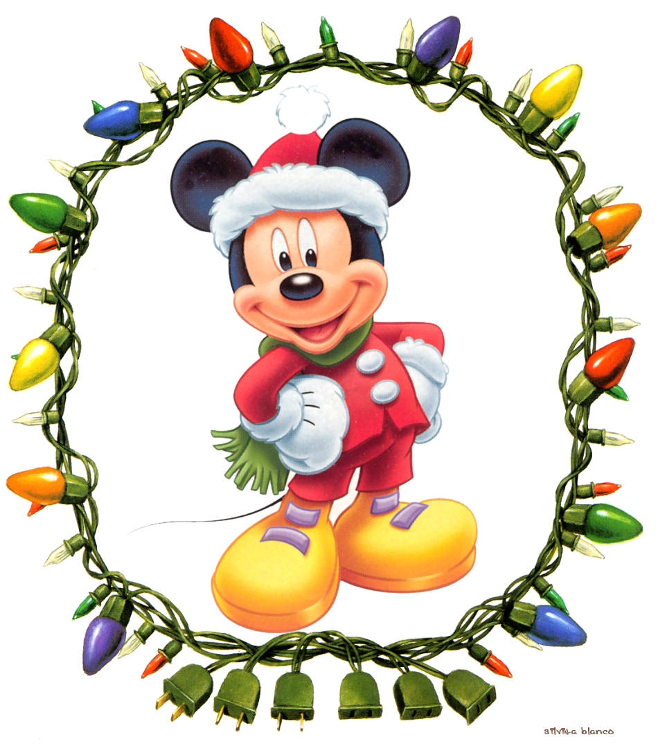 Mickey Mouse Navidad