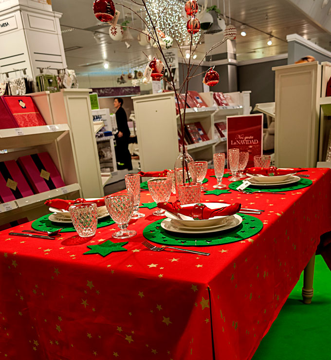 Decora tu mesa for Como decorar la mesa de navidad