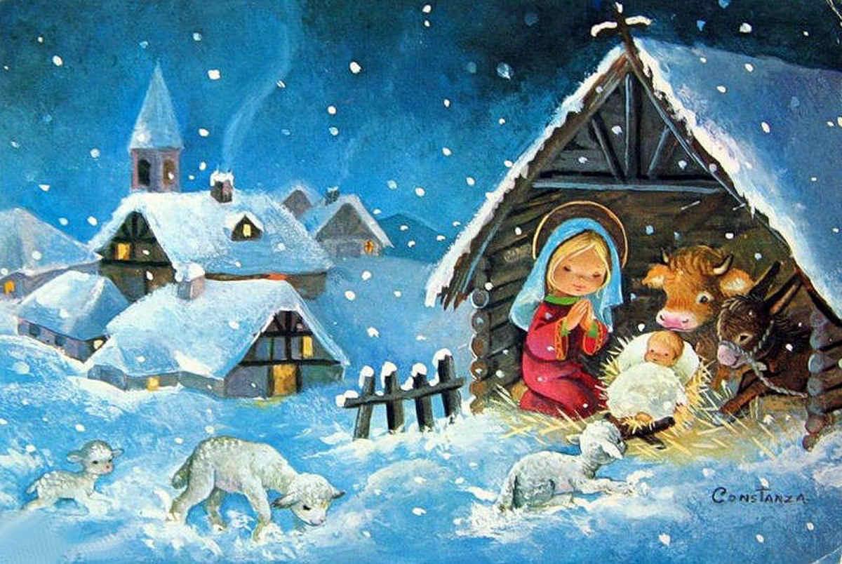 Navidad - Hacer una postal de navidad ...